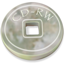 disc, Cd, Disk, Rw, save DarkGray icon