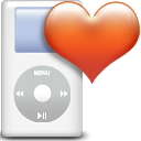 Favoris, ipod, Dir, Directory Chocolate icon