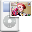 photo, Dir, image, Directory, pic, picture, ipod Silver icon