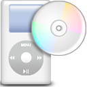 ipod, music, Dir, Directory WhiteSmoke icon