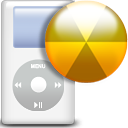 ipod, Burn, Dir, Directory WhiteSmoke icon