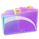 document, my document, paper, File MediumOrchid icon