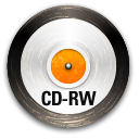 Disk, save, Rw, Cd, disc Black icon