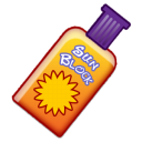 sunblock Black icon