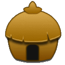 Building, Home, house, homepage DarkGoldenrod icon