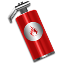 fire, support, Extinguisher, help Black icon