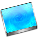 screen saver DeepSkyBlue icon