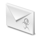 gmail, rokey, Message, mail, Email, envelop, Letter Black icon