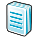 document, File, Text Black icon
