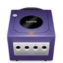Gamecube, indigo DarkSlateBlue icon