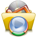 Folder, Wmp Black icon