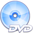 Dvd, Crystal, disc Lavender icon
