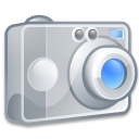 Camera, photography, Crystal Silver icon