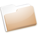 Folder SaddleBrown icon