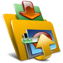 Folder, descending, fall, Bootskin, Descend, Down, Decrease, download Icon