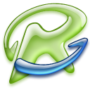 Desktop, media, kazaa OliveDrab icon