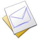 scratch, Email, envelop, mail, Message, Letter Black icon