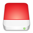 drive, red Crimson icon