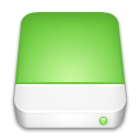 drive, green YellowGreen icon