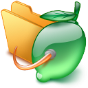 share, Limewire, Folder ForestGreen icon
