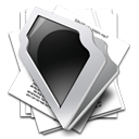 research Black icon