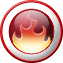 nero, fire Icon