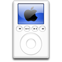 ipod, Blue, alternative, mp3 player Black icon