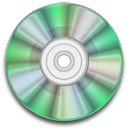green, Cd, Rw, disc, save, Disk Black icon