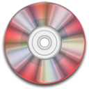 Rw, save, Disk, red, disc, Cd Black icon