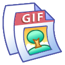 paper, File, Gif, document Black icon