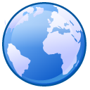 network RoyalBlue icon