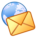 Letter, envelop, Email, mail, Message Black icon
