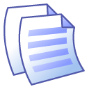 File, paper, document, Text Black icon
