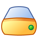 drive, Hd SandyBrown icon