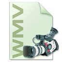 video, file type, Wmv, Camera, photography LightGray icon