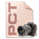 Camera, file type, pct, photography Wheat icon