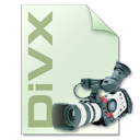 Camera, Divx, file type, photography LightGray icon