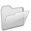 tip, Energy, grey, open, hint, Folder, light Gainsboro icon