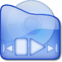 player, media CornflowerBlue icon