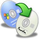 nero, generic, Cdrw, software, Cdr, roxio Gainsboro icon