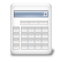 calculator, Calc, calculation Icon