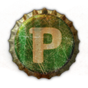 Pownce DarkOliveGreen icon