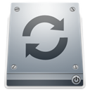 drive, Restore DarkGray icon