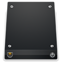 network, drive DarkSlateGray icon
