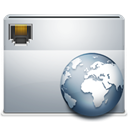 network, Folder DarkGray icon