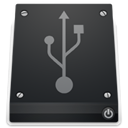 Usb, drive DarkSlateGray icon