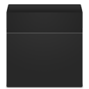 Trash, Blank, recycle bin, Empty DarkSlateGray icon