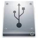 drive, Usb DarkGray icon