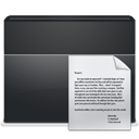 Folder, File, document, paper DarkSlateGray icon