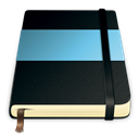 Moleskine, Blue Black icon